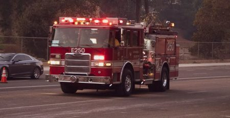 Jacksonville Beach, FL – One Injured in House Fire at 1st Ave N